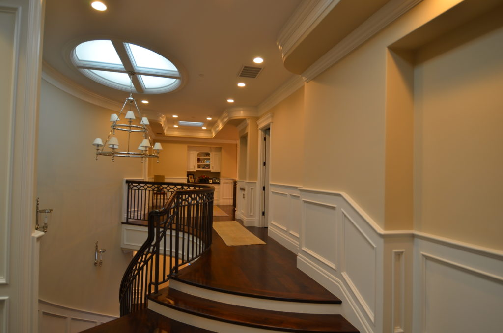 Image of trim materials for wainscot and crown