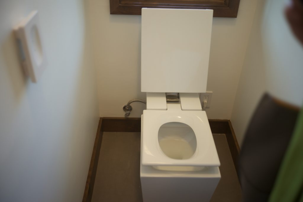 Toilet and lid
