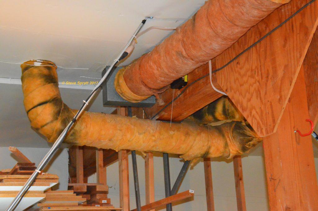 Ducting leaks create waste