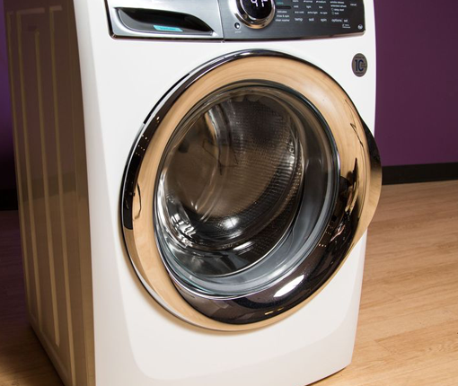 Image of modern front load washing machines