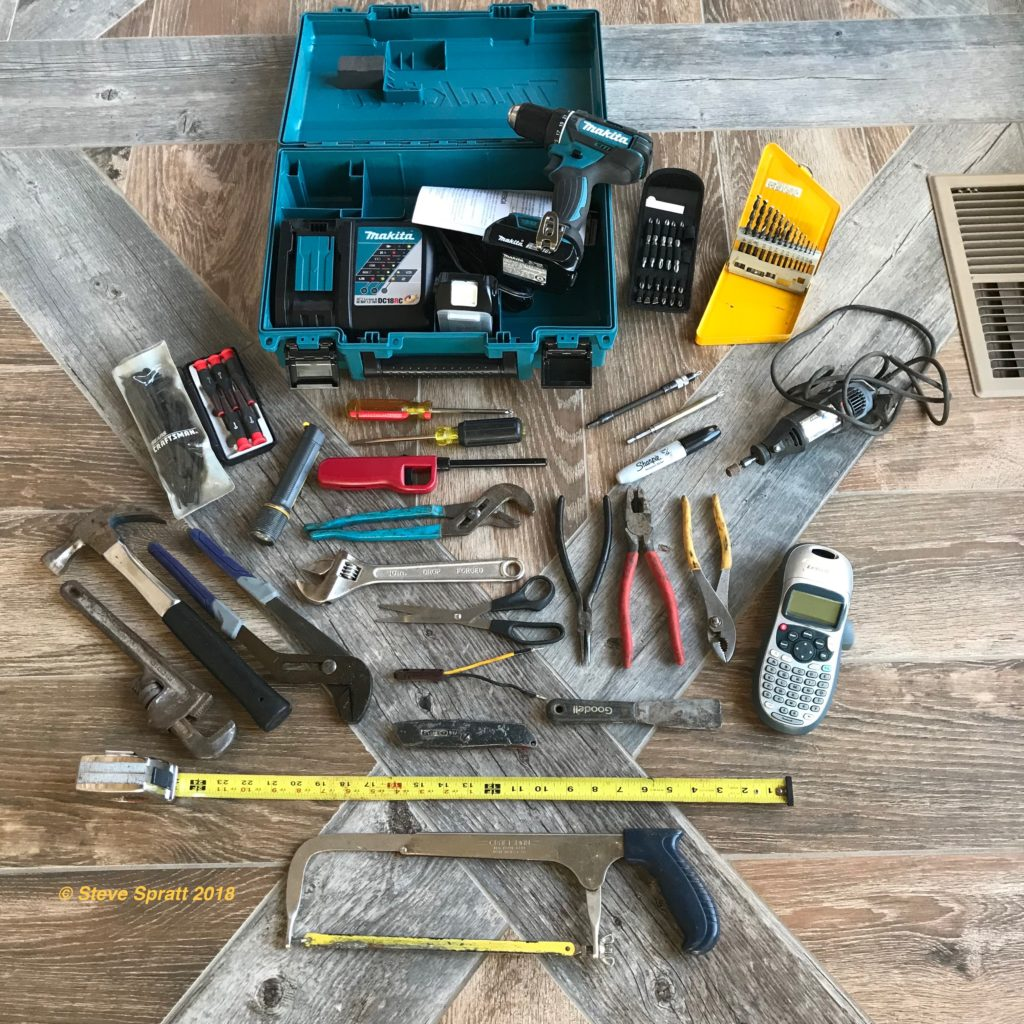 Basic homeowner tools
