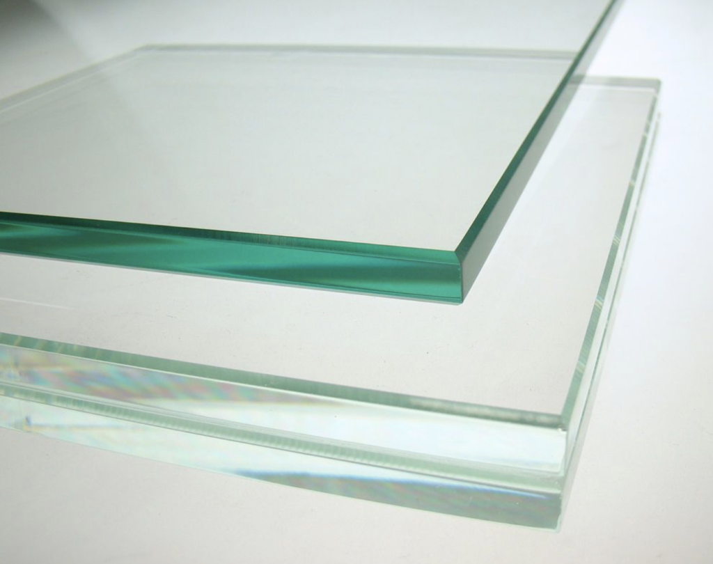 Clear glass compared to Starfire or low-iron glass