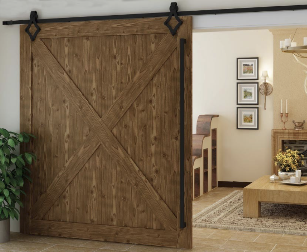 Image of sliding barn-style door