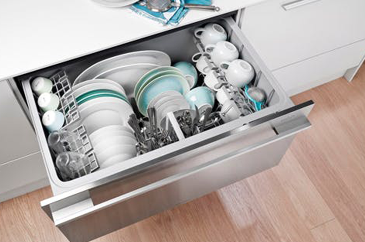 Dishwashers in a Drawer
