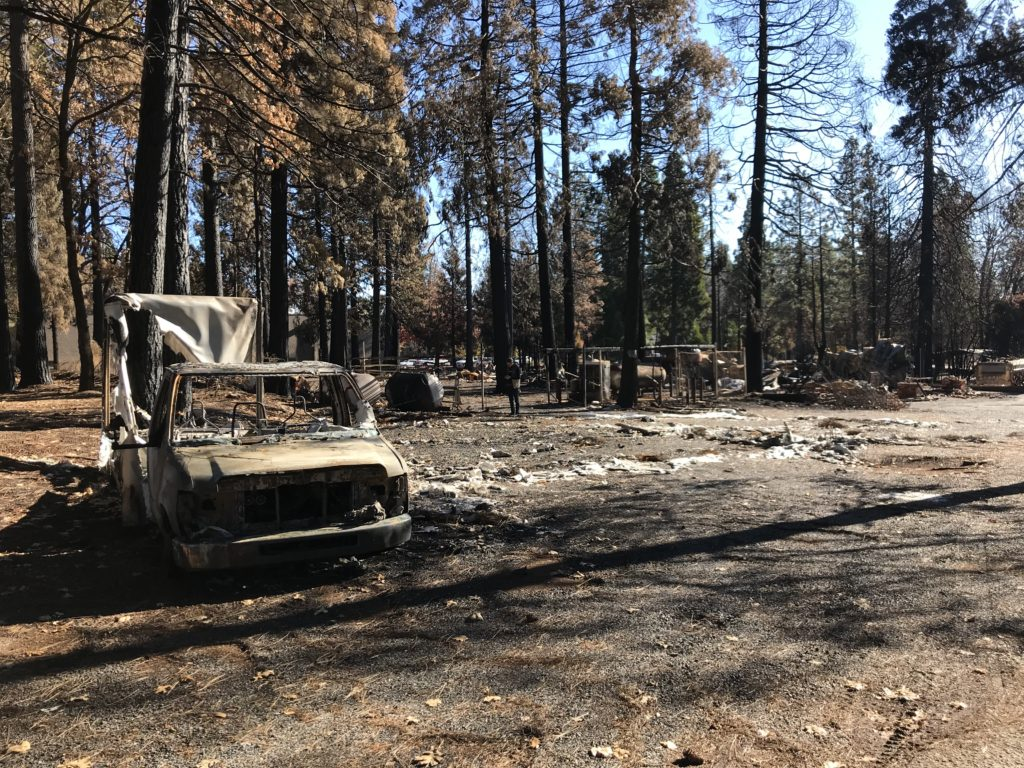 Hero saves 28 during Paradise fire
