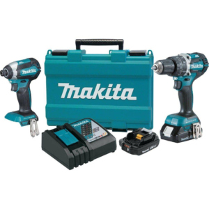 Makita drill and impact driver kit