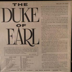 Duke of Earl, Gene Chandler