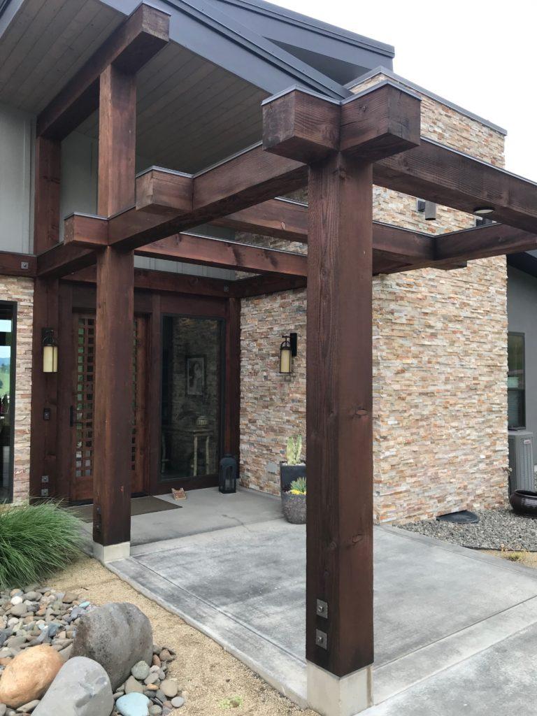 Protecting beams and timbers