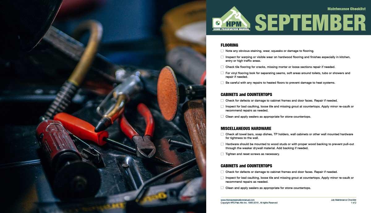 September/October Checklists – Download Now!
