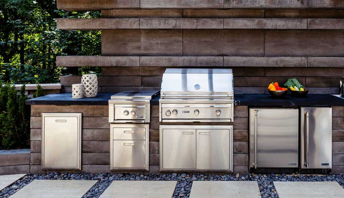 Outdoor Rated Appliances