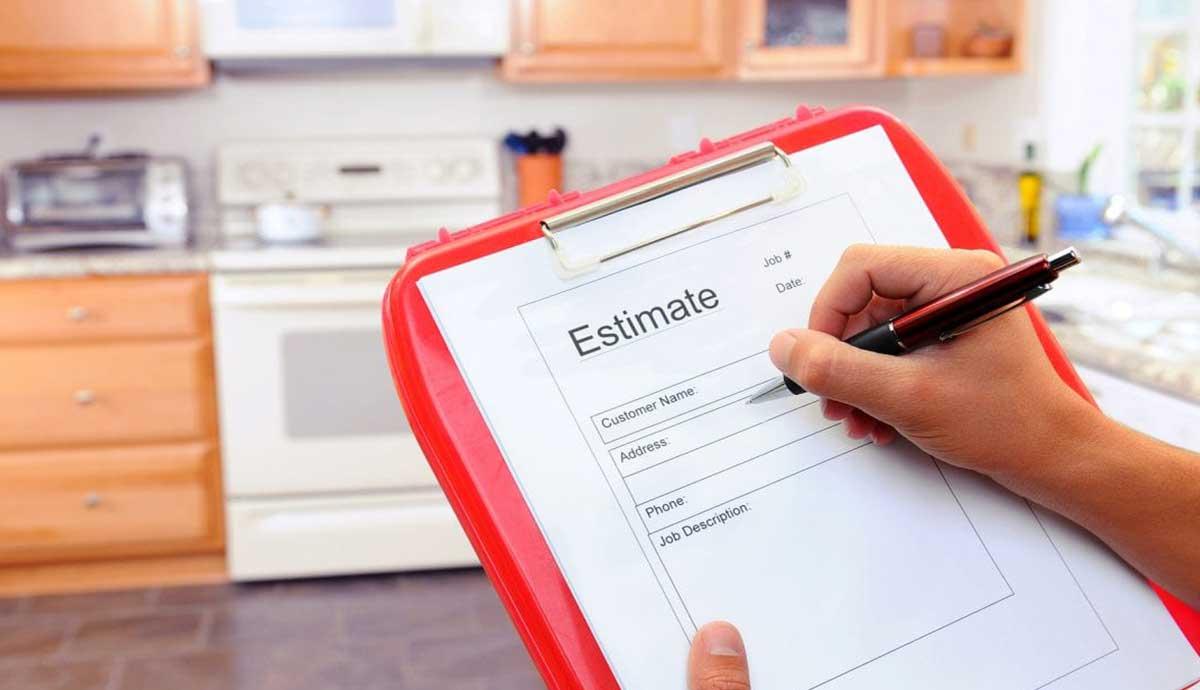 Estimates vs bids